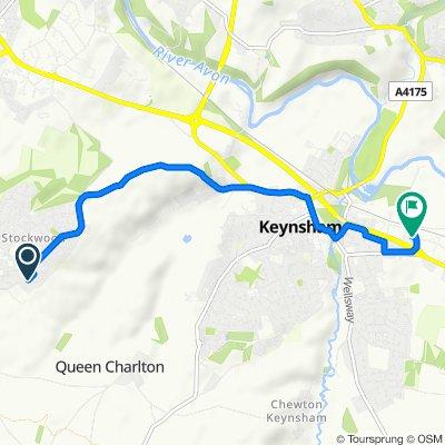 Restful route in Bristol