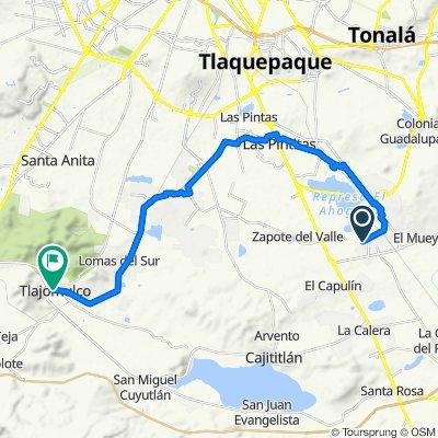 De Circuito Alameda del Cedro 776, La Alameda a Calle Flaviano Ramos Sur 2, Tlajomulco de Zúñiga