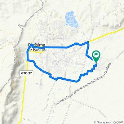De Calle Tamaulipas 16, San Roque de Montes a Domingo Muñoz Velázquez 44, San Roque de Montes