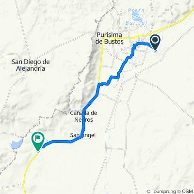 De Calle Tamaulipas 16, San Roque de Montes a Carretera Manuel Doblado - Purísima de Bustos 7737, El Tepetate