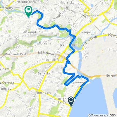 Brighton Le Sands Novotel to Earlwood Track/2