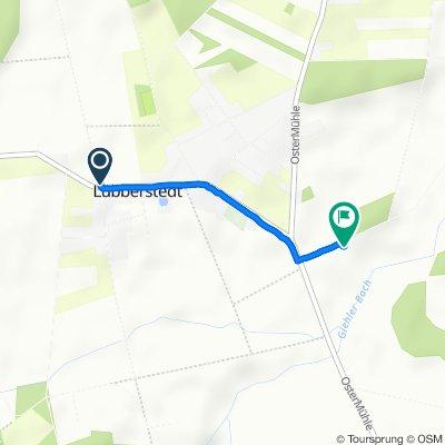 Restful route in Lübberstedt