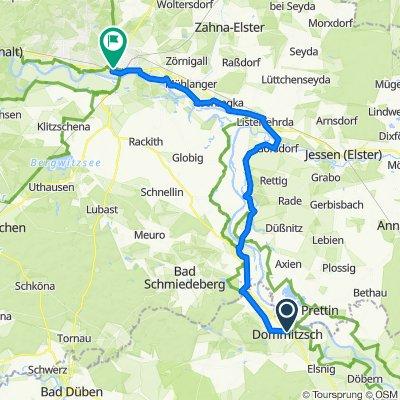 D10 Dommitzsch nach Wittenberg
