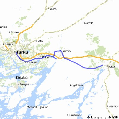 Jour 104 - Turku - Halikko
