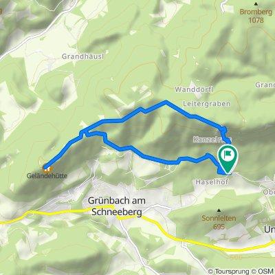 De Bergstraße 55, Oberhöflein a Bergstraße 55, Oberhöflein