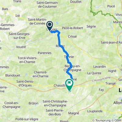 De Le Plessis, Le Grez à 7 Lotissement La Grande Pièce, Auvers-sous-Montfaucon