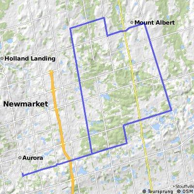 Aurora-9th line-Mt. Albert-Holt-McCowan