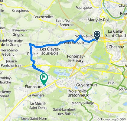 Crisp ride in Élancourt