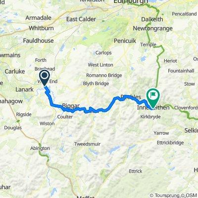Easy ride in Innerleithen
