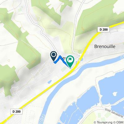 De 55 Rue de l'Avenir, Rieux à 15 Rue Jean Carette, Rieux