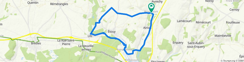 Itinéraire modéré en Avrechy
