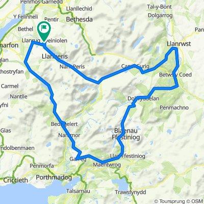 Blaenau 100km ride