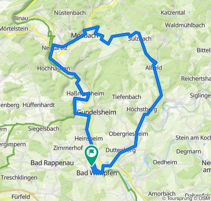 Neckar-Jagst-Schefflenz-Sulzbach-Elz
