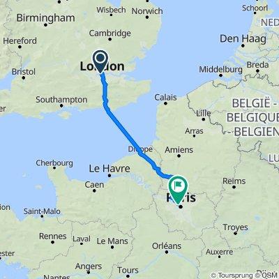 London To Paris Bike RIde (official)