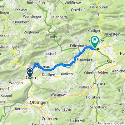 Olten to Aarau