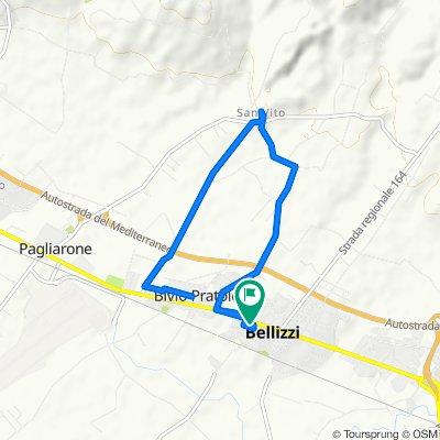 Da Via Mazzini 51, Bellizzi a Via Mazzini 45, Bellizzi