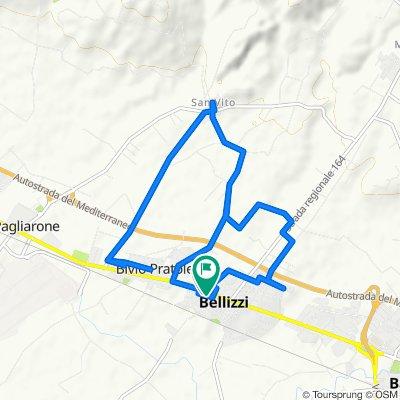 Da Via Mazzini 45, Bellizzi a Via Mazzini 31, Bellizzi