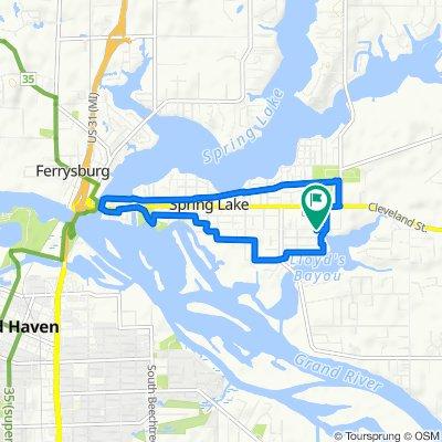 748 River St, Spring Lake to 748 River St, Spring Lake