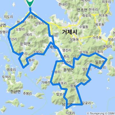 2057-2 Changho-ri, Geoje-si to 2062-1 Changho-ri, Geoje-si