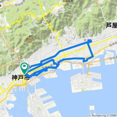 Steady ride in Chuo-Ku, Kobe-Shi