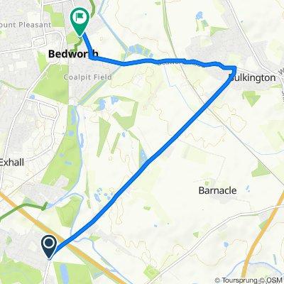 bulkington route