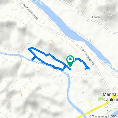 Moderate route in Caulonia