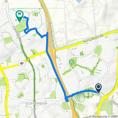 Moore Drive, Joondalup to 35 Grangemouth Turn, Kinross
