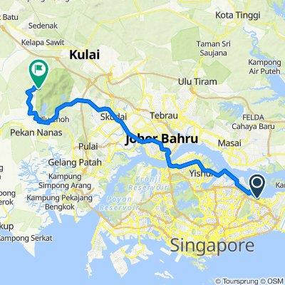 To Mount Gunai