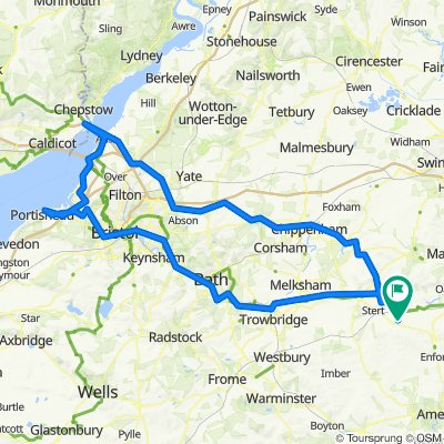 Over to Bristol and Back