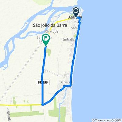 High-speed route in São João da Barra