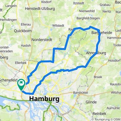 2020-06-01 - Ohlsdorf - Ahrensburg - Bargteheide - Hummelsbüttel