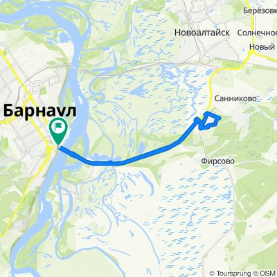 Relaxed route in Барнаул