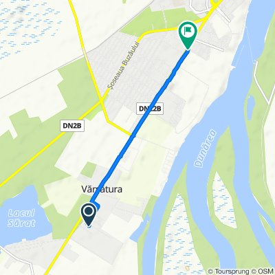 Strada Ghioceilor, Vărsătura to Calea Călărașilor 228, Brăila