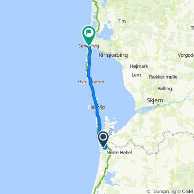 6 etape  40 km