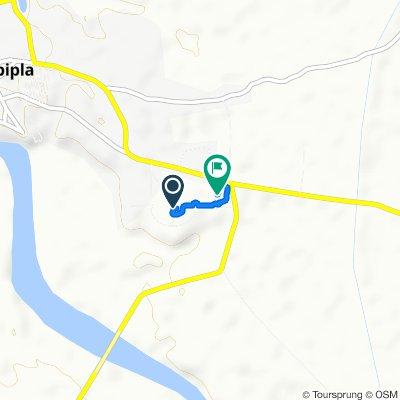 GFRC Entrance Road, Rajpipla to Gujarat State Highway 160, Rajpipla