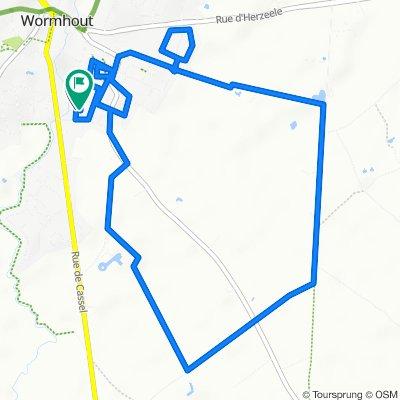 Itinéraire modéré en Wormhout