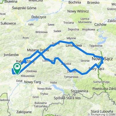 Szybka trasa w Bielanka