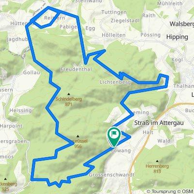 Rund um den Saurüssel mit Abstecher zum Attergauer Aussichtsturm am Lichtenstein