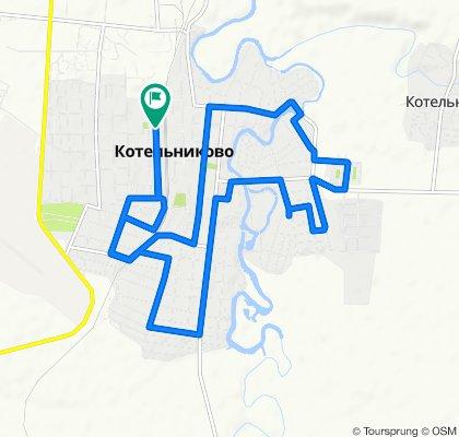 От улица Серафимовича, 27, Котельниково до улица Серафимовича, 27, Котельниково