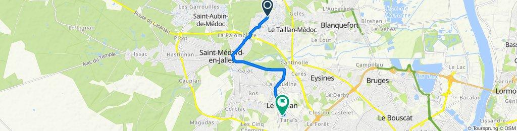 Steady ride in Le Haillan