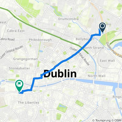 12 Fairview Avenue Lower, Dublin to 151-156 Thomas Street, Dublin