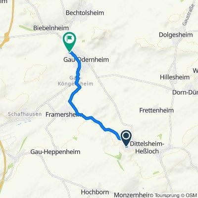 Dittelsheim-Heßloch do Nach dem Eigen 18, Gau-Odernheim