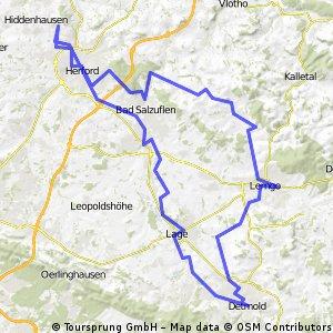 Hiddenhausen - Detmold
