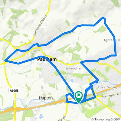 50 Valley Gardens, Burnley to 50 Valley Gardens, Burnley