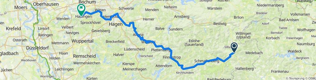 Lenneradweg Winterberg-Hattingen