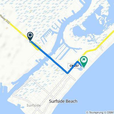 Steady ride in Surfside Beach