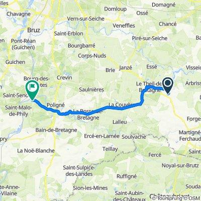 De 5–9 Rue Édith Piaf, Retiers à 24 Rue des Manoirs, Pléchâtel