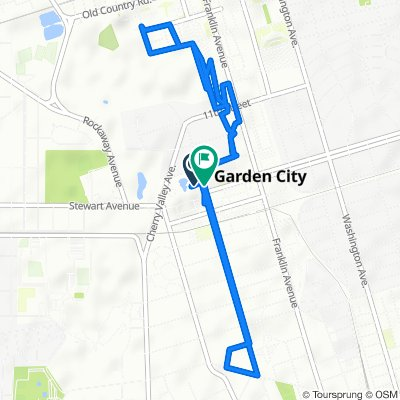 Moderate route in Garden City