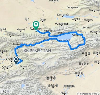 Osh - Tian Shan - Bishkek