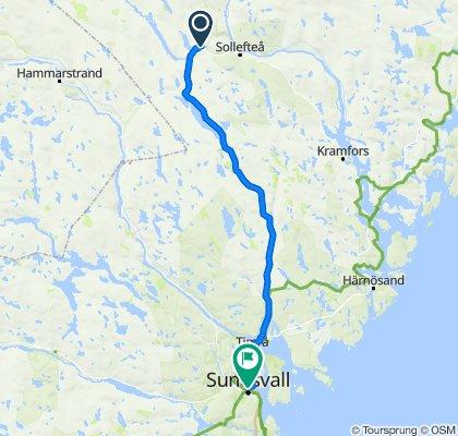 långsele till Sundsvall